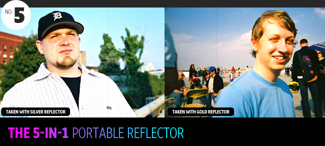 the 5 in 1 portable reflector