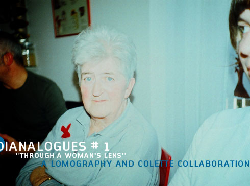 Dianalogues No.1 - A Lomography and Colette Collaboration