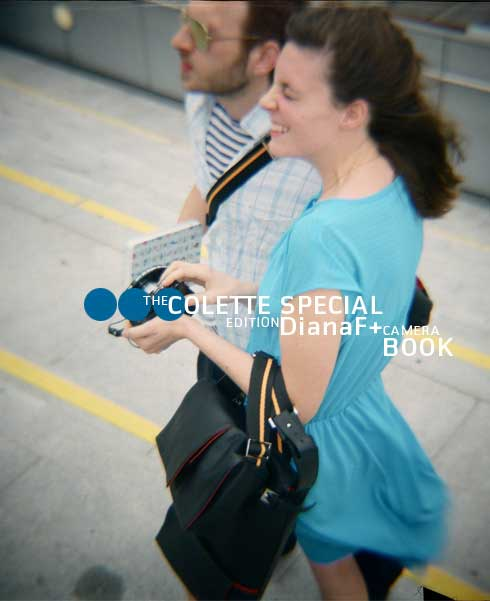 The Colette Special Edition Diana F+ camera Book