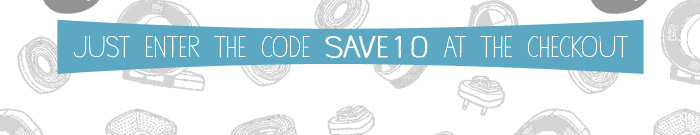 Just enter the code SAVE 10 at the checkout