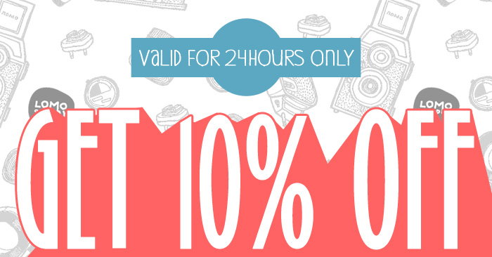 Get 10% off everything!