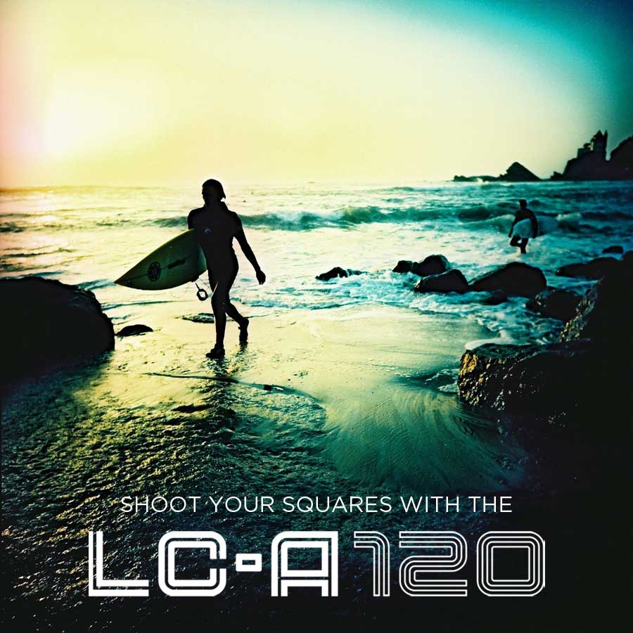 Shoot Your Squares with the LC-A 120
