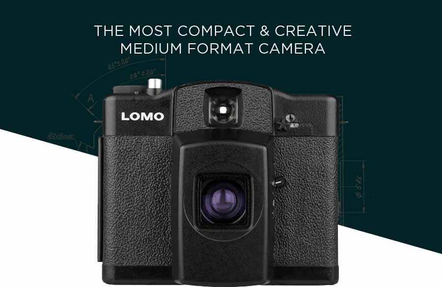 The Most Compact & Creative Medium Format Camera