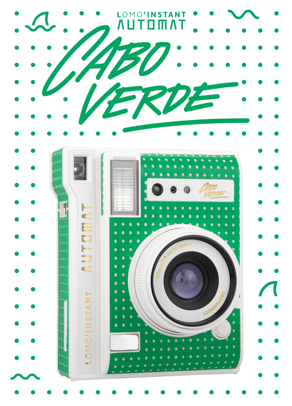 Introducing the New Lomo'Instant Automat Cabo Verde
