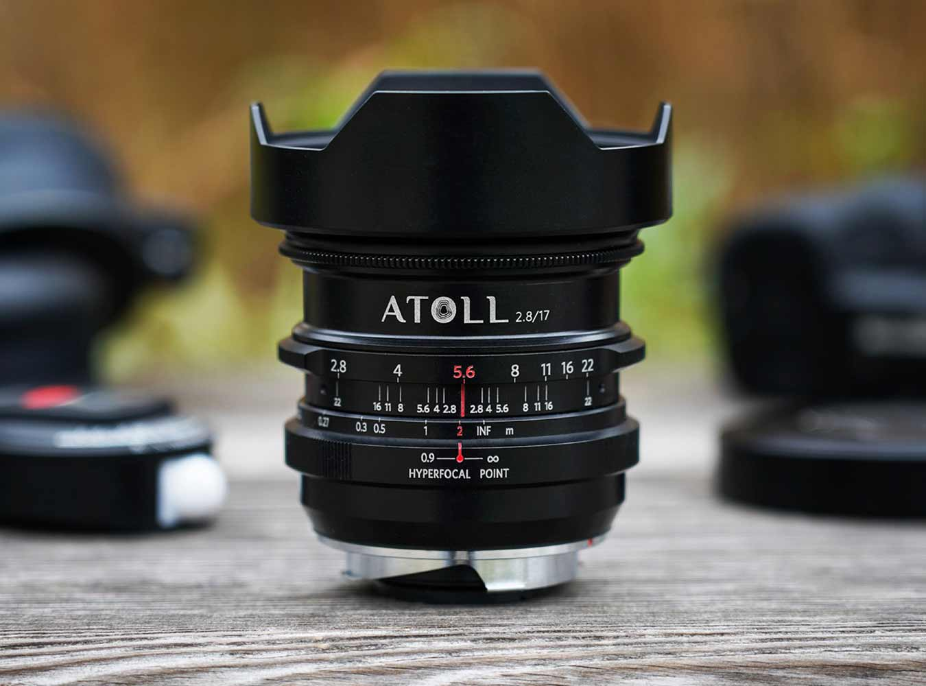 The Atoll Ultra-Wide 2.8/17 Art Lens