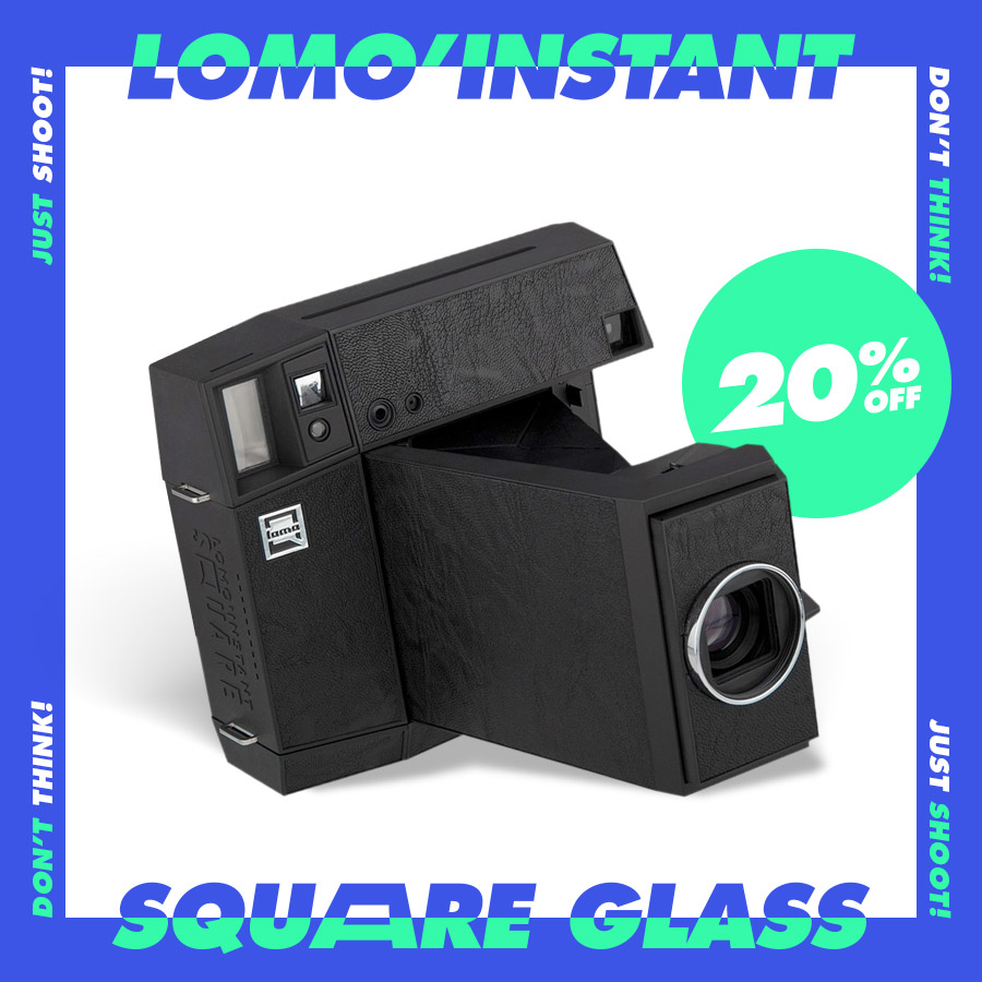 20% Off the Lomo'Instant Square Glass